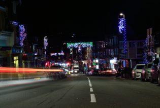 Christmas Lights in Uckfield High Street