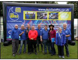 Group of employees from Uckfield FM