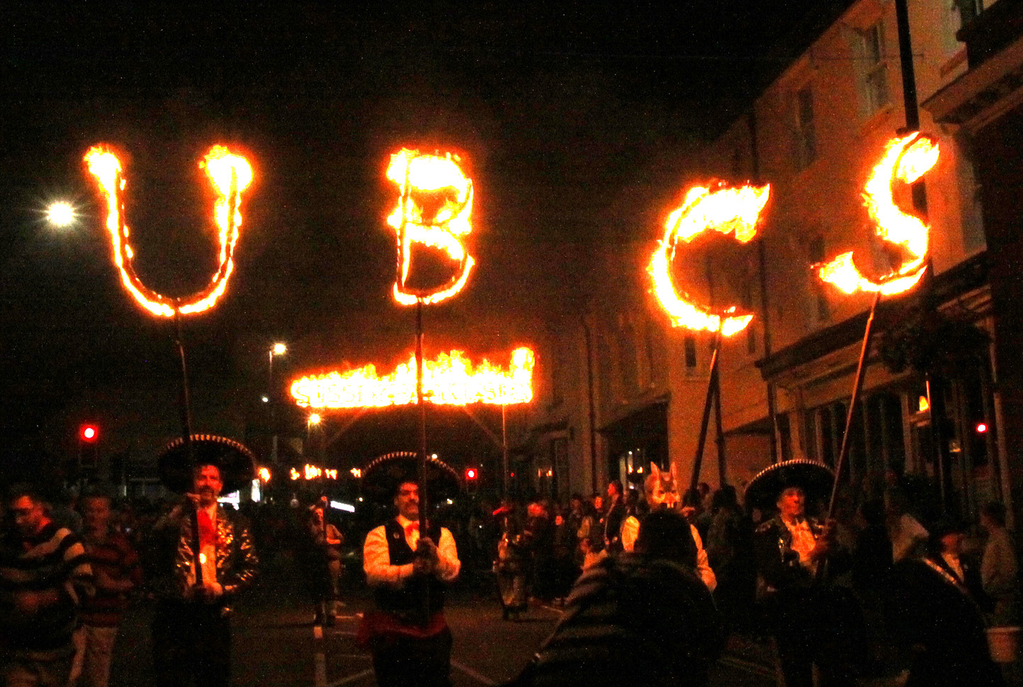 Uckfield Bonfire procession