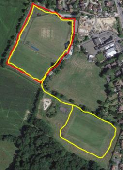 Aerial photo of Victoria Pleasure Ground to show the perimeter walks