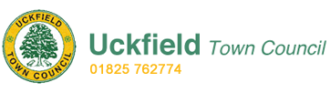 Uckfield Town Council logo and name