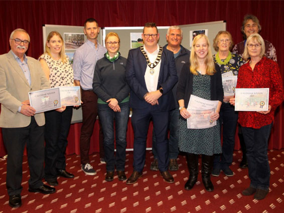 Calendar Competitions winners 2020