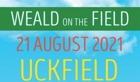 Weald on the Field image with date 21 August 2021